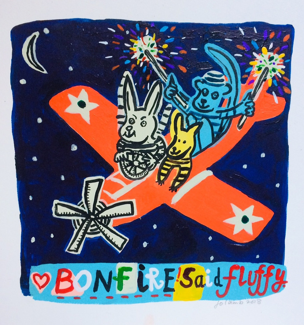 Jo Lamb - Bonfire, said Fluffy