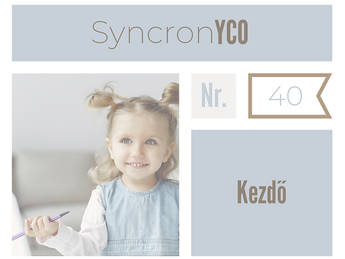 Syncronyco - Kezdő Nr.40