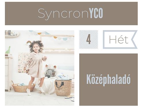 Syncronyco - Középhaladó 4. hét