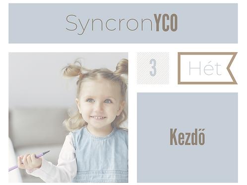 Syncronyco - Kezdő 3. hét