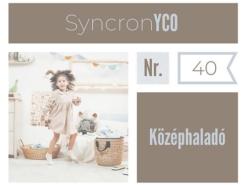 Syncronyco - Középhaladó Nr.40