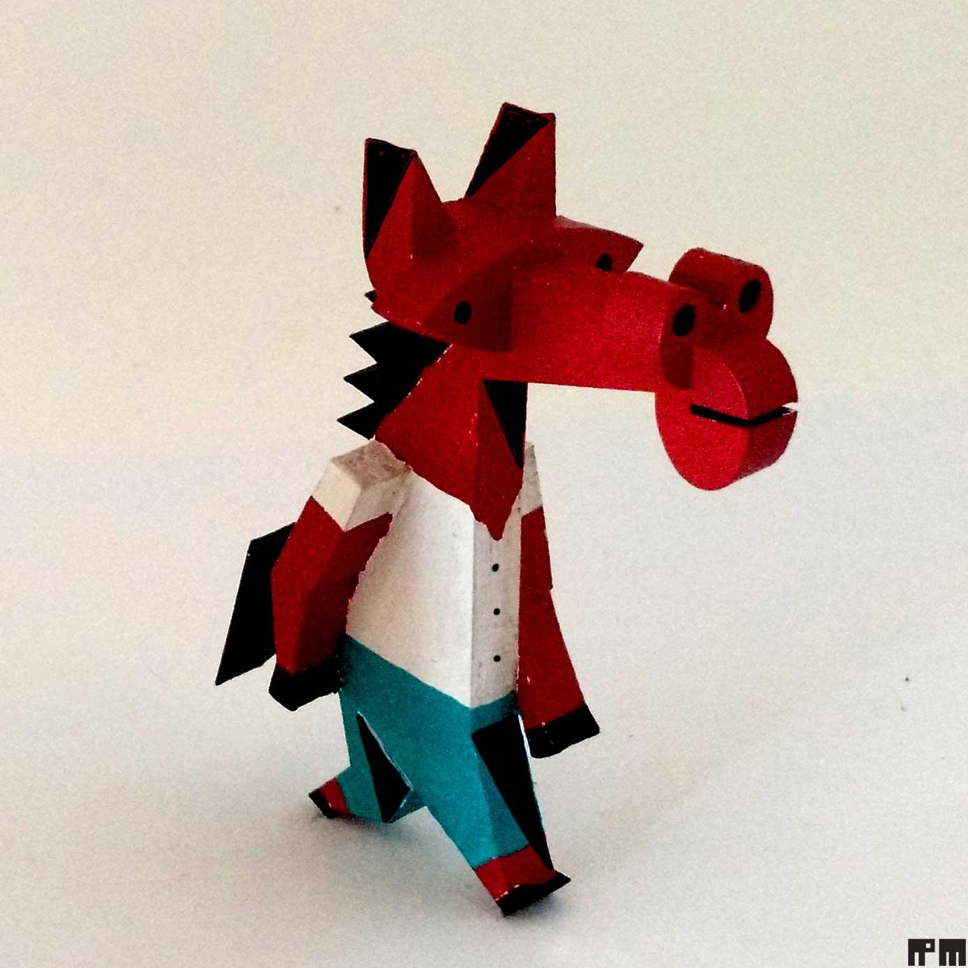 cavalo vermelho