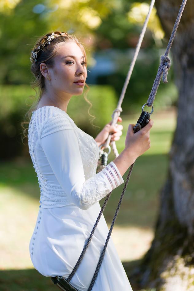 Fotograaf: Petra Slingenberg Fotografie & Design MUAH: Guapa Hair & Visagie Bruidskleding: VLBC