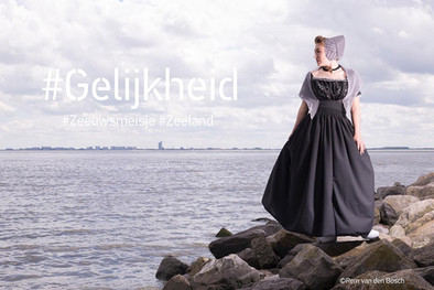 Project: Zeeuws Meisje 2019 Fotograaf: Rem van den Bosch MUAH: Desiree Bakker