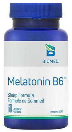 Melatonin B6 60 lozenges