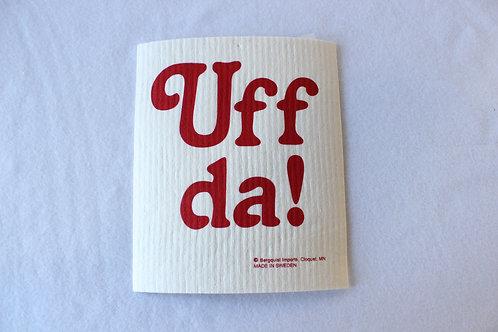 Uff da! Swedish Dishcloth