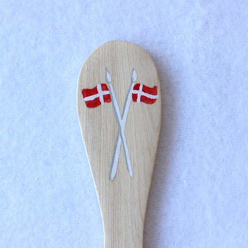 Danish Wooden Flag Spreader