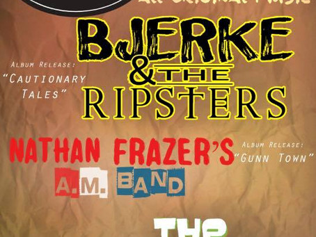 Bjerke & The Ripsters' Rock Show and CD Release Party!