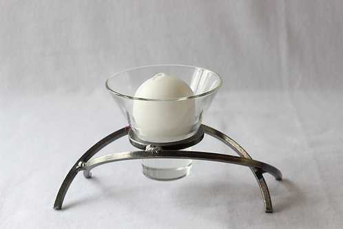 Silver Candle Holder Smaller