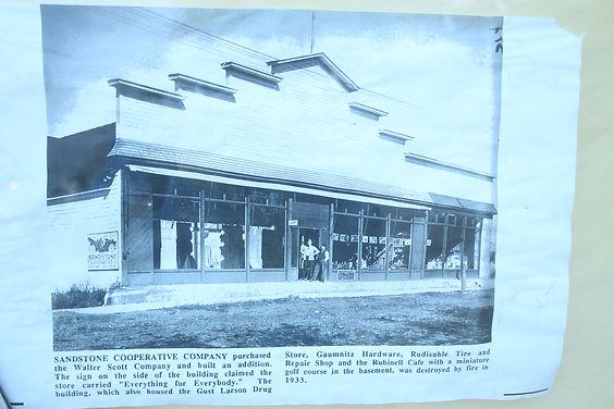 Sandstone Cooperative Company Building 1933 Sandstone, MN