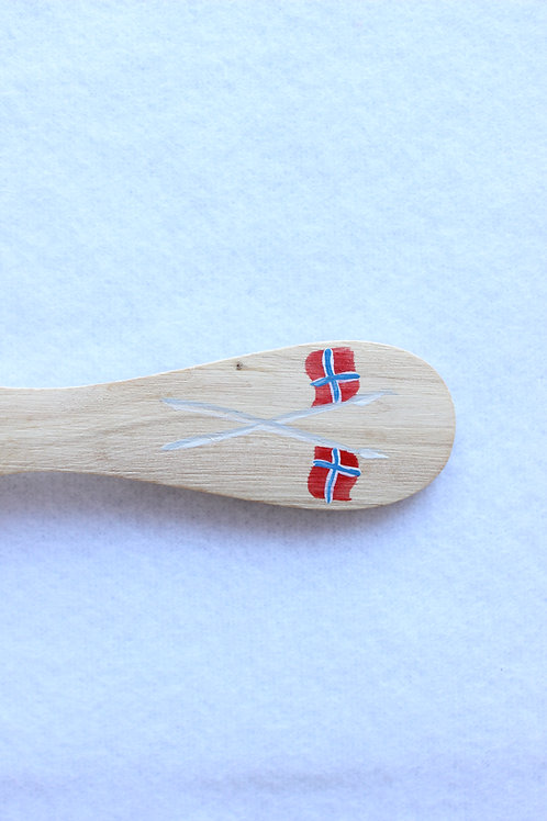 Norwegian Flag Wooden Spreader