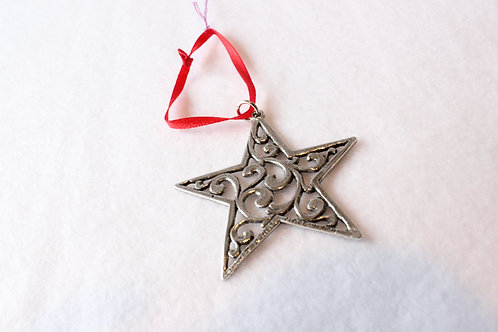 Norwegian Metal Ornaments Star
