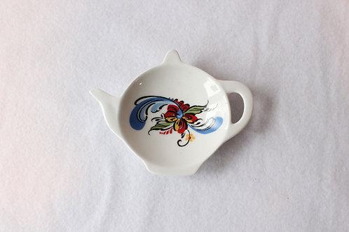 Tea Pot shaped saucer