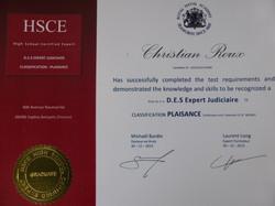 D.E.S. Expert Judiciaire