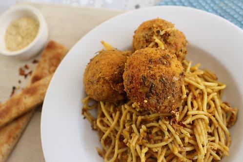 Spaghetti & Veggie Balls
