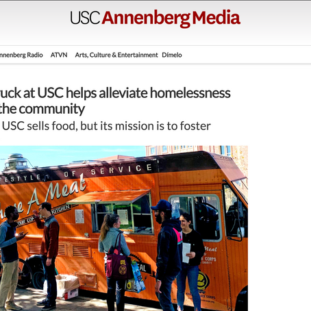USC Annenberg Media features the Share A Meal Food Truck