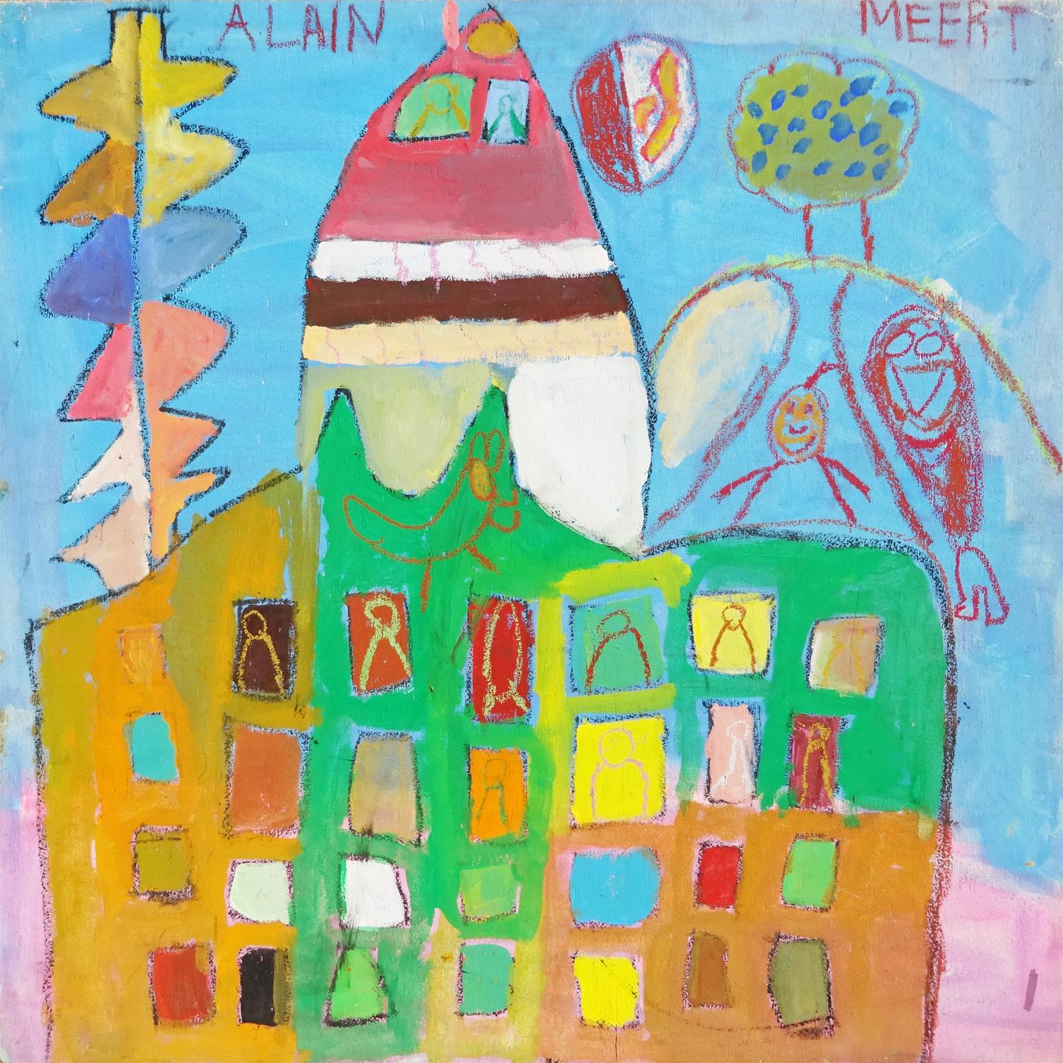 Alain Meert アラン・メール(CREAHM)2004年90×90
