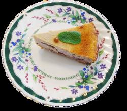 ミックスベリーのチーズケーキ