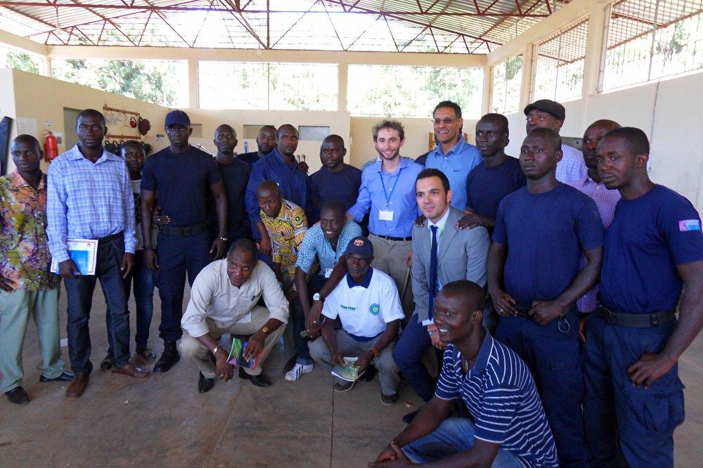 Prisão de Bafatá: inauguração escola