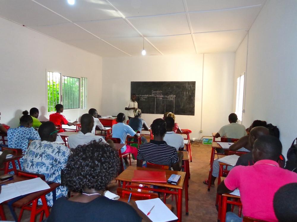 Bubaque: nova escola em hotelaria