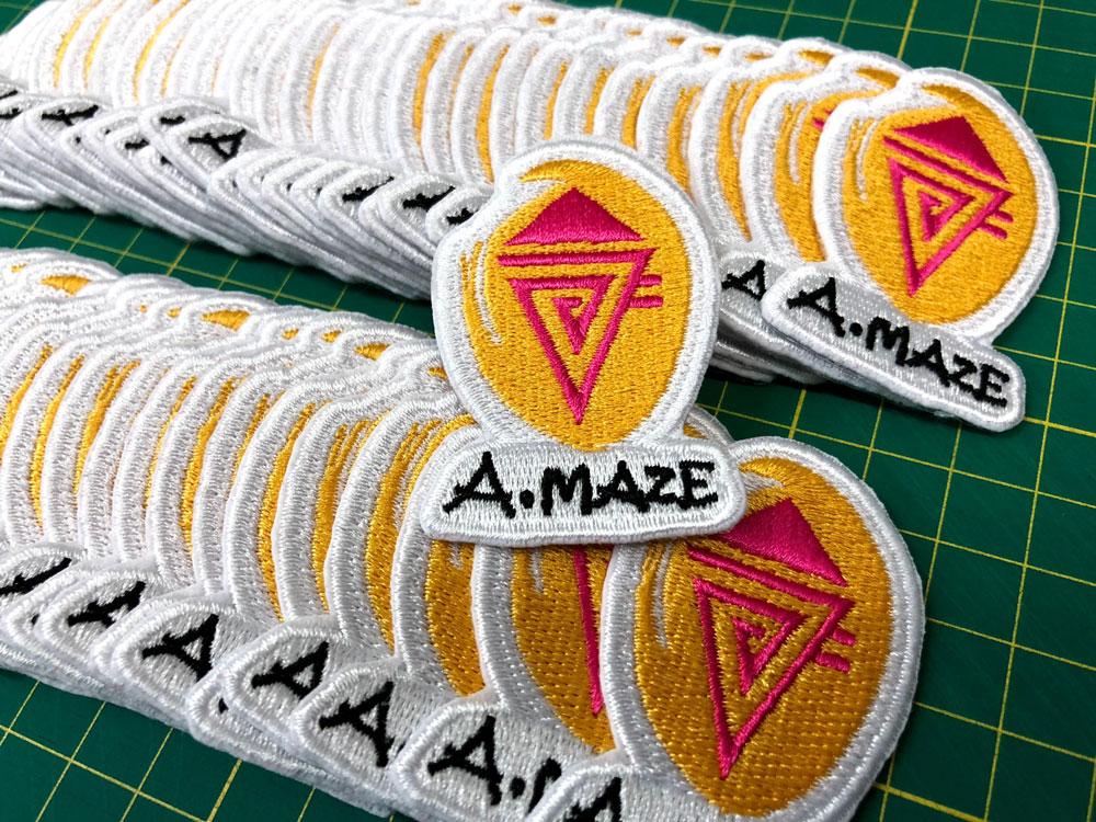 繡花章 Embroidery badges