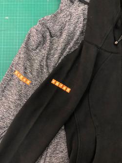 外套繡花 Embroidery on jackets