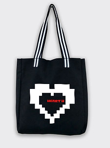 Heart U Tote Bag