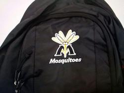 電腦袋繡花 Embroidery on backpack