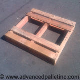custom pallet built to spec for customer