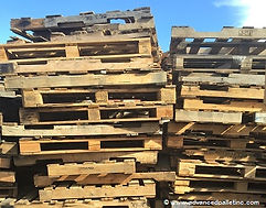 Junk random pallets we buy or recycle at no cost. Any sizes, Broken or not, we can help!