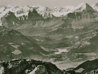 zonnige groetjes uit de Alpen