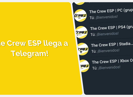 "¡""THE CREW ESP"" LLEGA A TELEGRAM!"