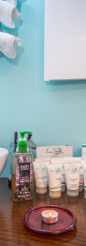 Book a treatment in at our fabulous Pamper Room
