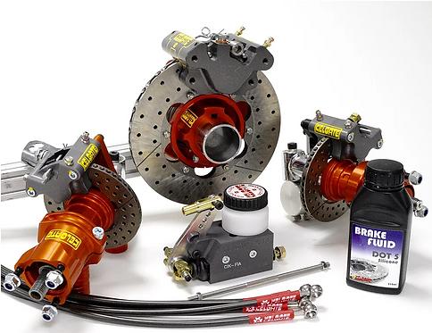 GT4 125 G/Box 4 Wheel Brake System