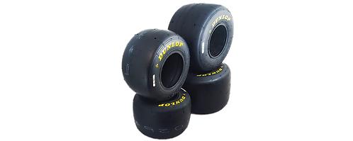 """Dunlop DFS Tyre Set - Superkart 6"""""""