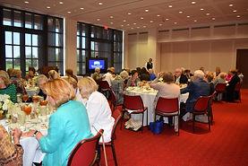 Bush libary luncheon with speaker.jpg