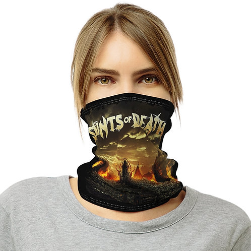 """Saints of Death  """"Ascend to the Throne"""" Neck Gaiter"""