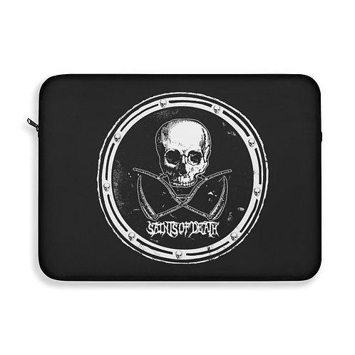 """Saints of Death """"Crest"""" Laptop Sleeve"""