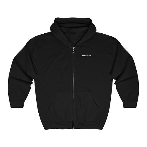 "Saints of Death ""Crest"" Unisex Heavy Blend™ Full Zip Hooded Sweatshirt"