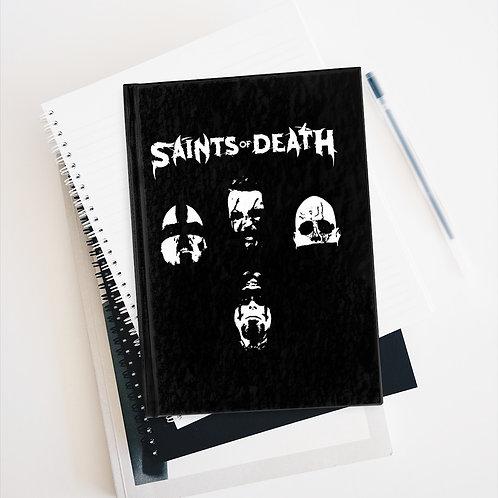 "Saints of Death ""Faces"" Journal - Ruled Line"
