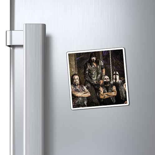 Saints of Death Band Fridge Magnet