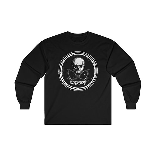"Saints of Death ""Crest Logo"" Ultra Cotton Long Sleeve Tee"