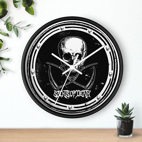 "Saints of Death ""Logo"" Wall clock"