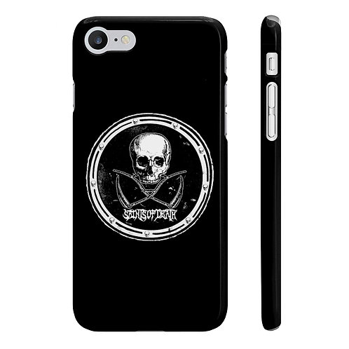 "Saints of Death ""Crest Logo"" Slim Phone Cases"