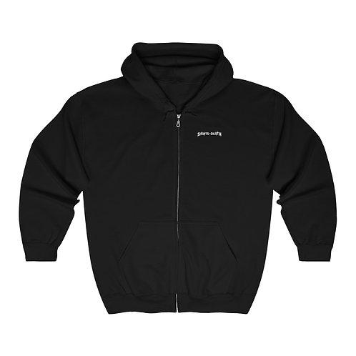 "Saints of Death ""ZOMBIES"" Unisex Heavy Blend™ Full Zip Hooded Sweatshirt"