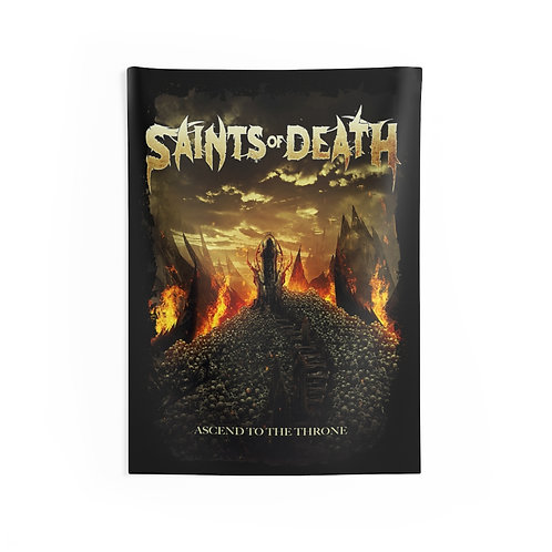 Saints of Death ' Ascend ' Indoor Wall Tapestries