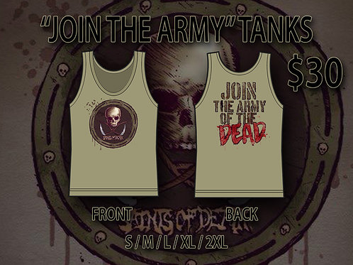 ARMY OF THE DEAD TANKS