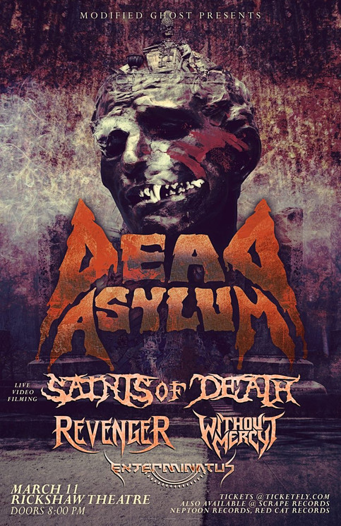 CONTEST: WIN TICKETS TO SAINTS OF DEATH'S NEXT SHOW!