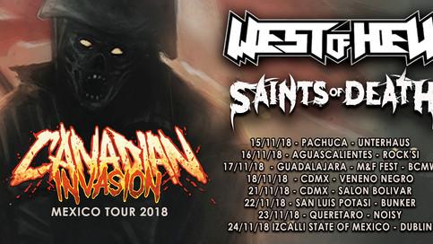 Saints of Death announce CANADIAN INVASION Mexico tour!