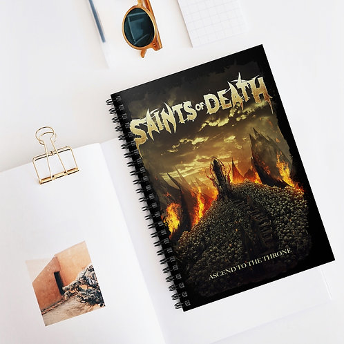 """Saints of Death """"Ascend"""" Spiral Notebook - Ruled Line"""